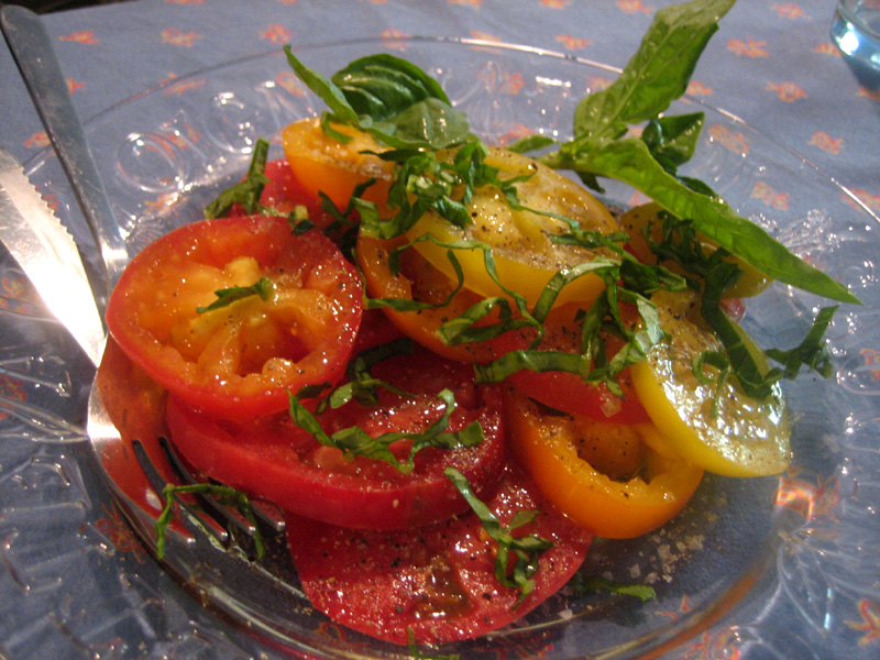 Heirloom Tomato Salad