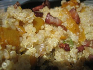 Quinoa Salad with Butternut Squash and Pancetta Recipe Photo