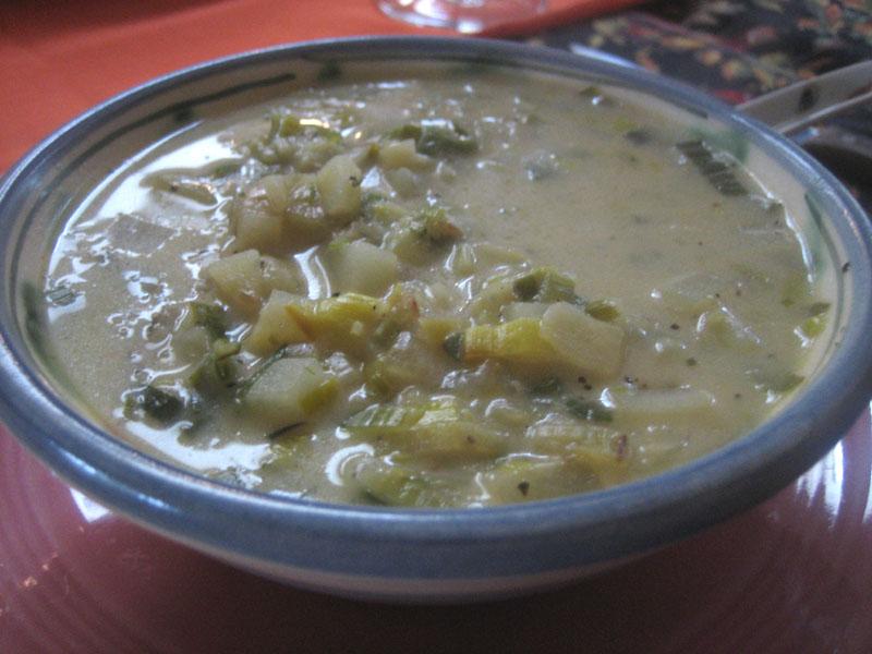 Capay Farm Leek & Potato Soup