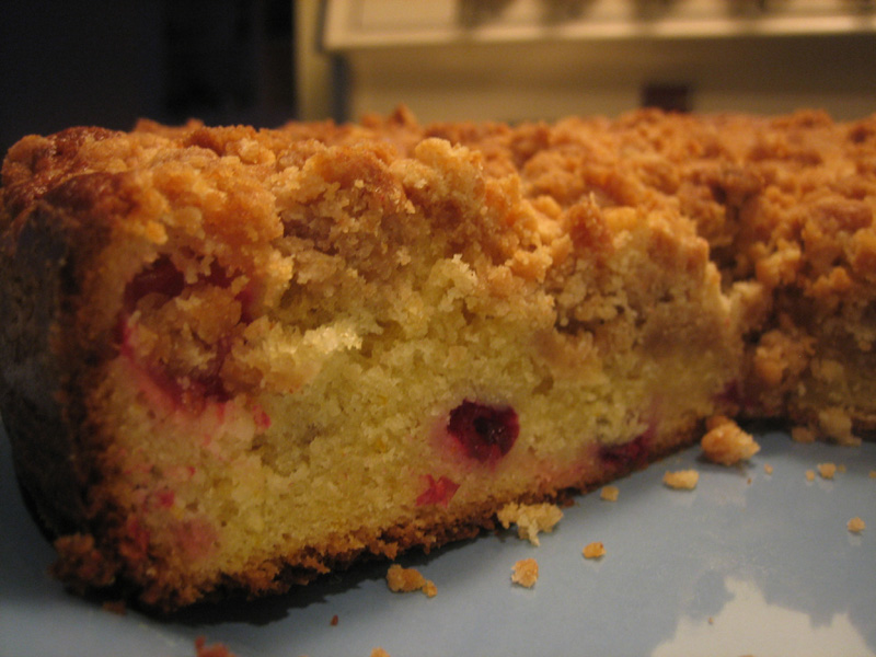 Cranberry Crumble Cake (Cranberry Coffee Cake) - I Love You More Than ...