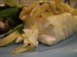 Halibut with Fennel Recipe Photo