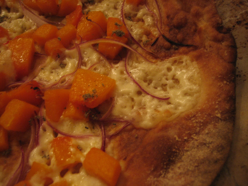 Butternut Squash Pizza with Fontina Val D'Aosta & Thyme