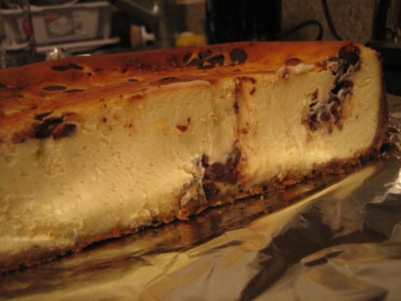 Chocolate Chip New York Style Cheese Cake
