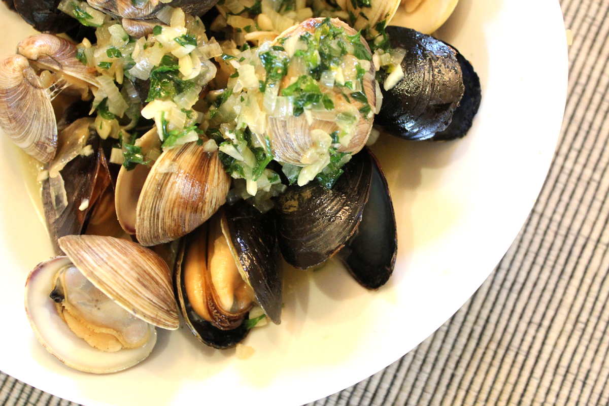mussels pastis