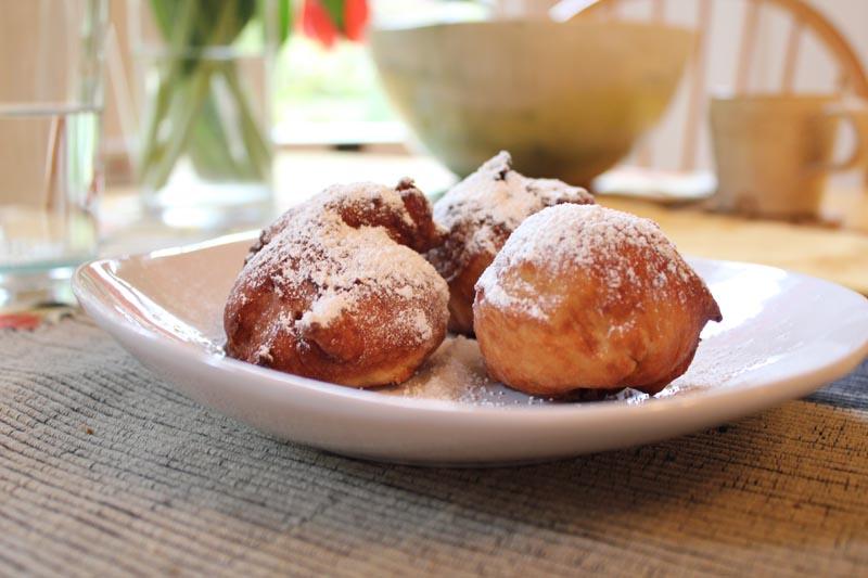 Venetian Fritole (Italian Doughnuts)