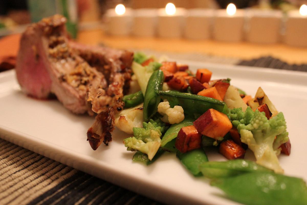 Warm Winter Vegetable Salad